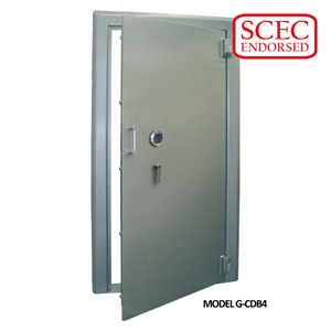 CMI CD4 Strongroom Doors