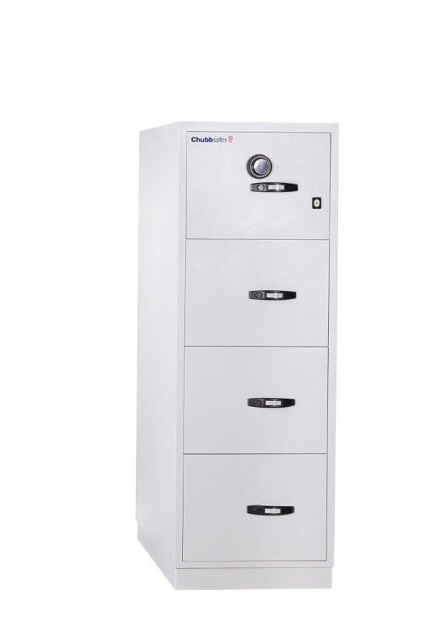 Chubb fire file 31- 4 draw 2 hours filing cabinet
