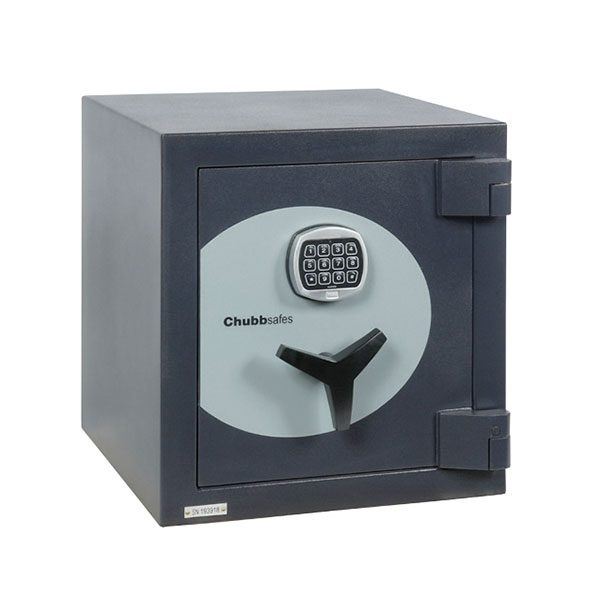 Chubb Omni digital office safe size 1