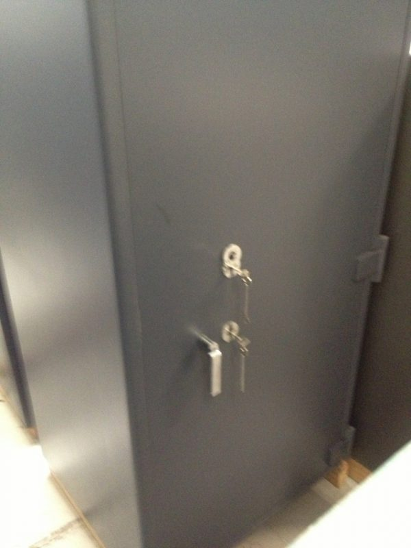 fully recondition Chubb duel key operated safe