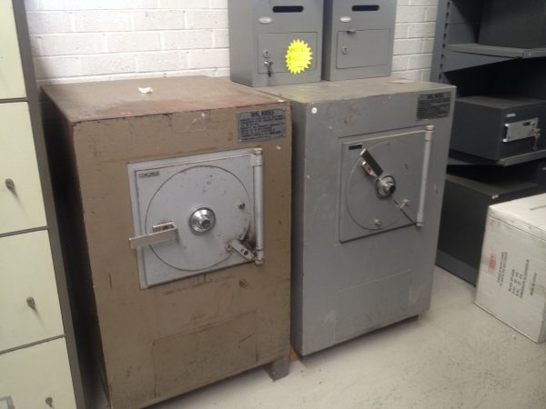 Chubb transurity TDR cash management safe used