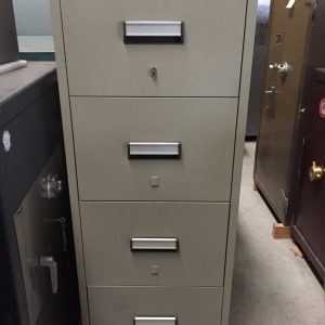 USED CHUBB 2 HOUR 4 DRAW FILING CABINETS