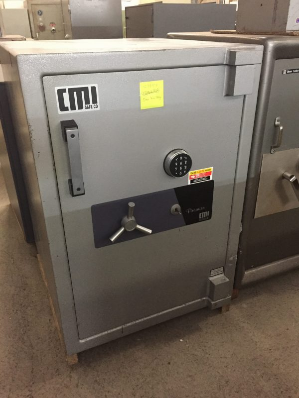 USED CMI PR5 TDR HIGH SECURITY SAFE