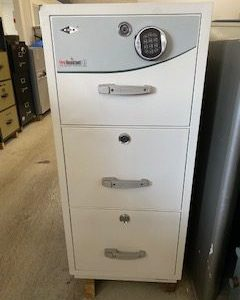 FIRE RESISTANT 1 HOUR 3 DRAW FILING CABINETS