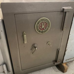 CMI vintage key operated safe