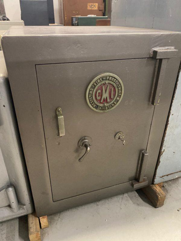 CMI vintage key operated safe